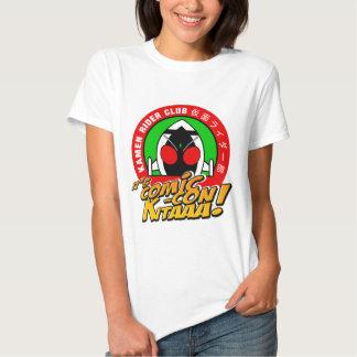 Convenio cómico del club del jinete de Kamen Camisetas