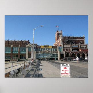 Convenio pasillo de Paramount del paseo marítimo d Póster