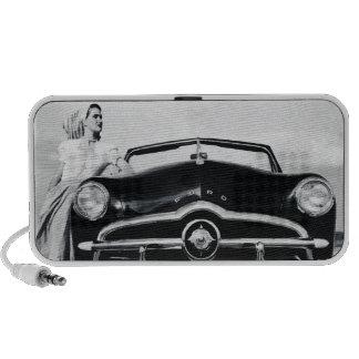 Convertible 1948 de Ford Altavoces De Viaje