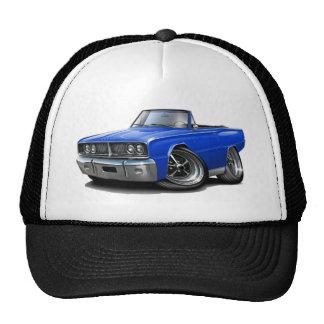 Convertible azul 1966 de la corona gorra