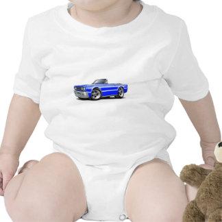 Convertible azul 1967 del belvedere trajes de bebé