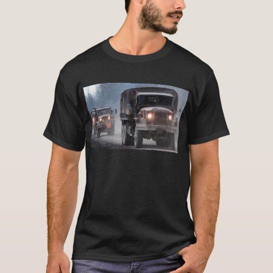 Convoy de camión de ejército camiseta