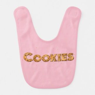 Cookies Text Babero