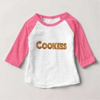 Cookies Text Camiseta De Bebé