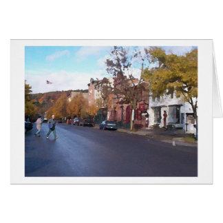 Cooperstown 2001 tarjeta de felicitación