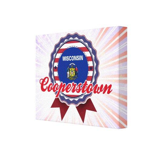 Cooperstown, WI Impresion De Lienzo