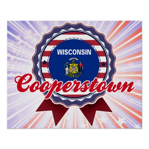 Cooperstown, WI Impresiones