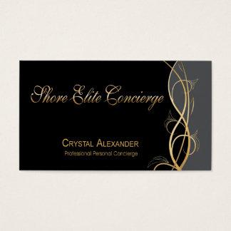 Coordinador del planificador de eventos de gala de tarjeta de negocios