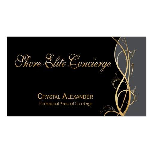 Coordinador del planificador de eventos de gala de plantillas de tarjetas personales