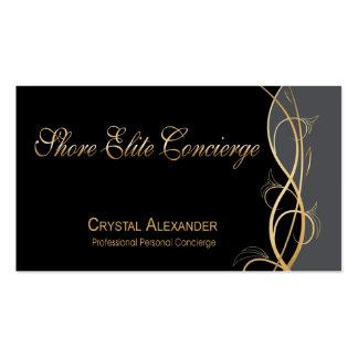Coordinador del planificador de eventos de gala de tarjetas de visita
