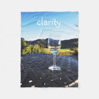 Copa de vino de motivación el || de la cita el || manta polar