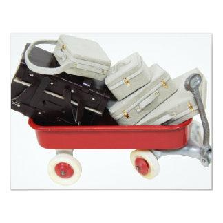 Copia BaggageOfPast030709 Invitación 10,8 X 13,9 Cm