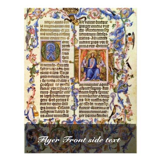 Copia de la primera página de oro de Bull de Meist Tarjetón