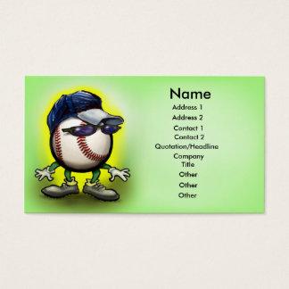 Copia de la tarjeta de la gorra de béisbol,