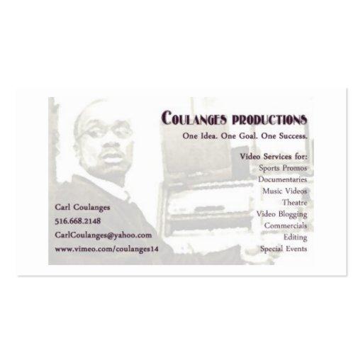 copia de la tarjeta de visitas de carl plantilla de tarjeta de negocio
