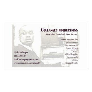 copia de la tarjeta de visitas de carl tarjetas de visita