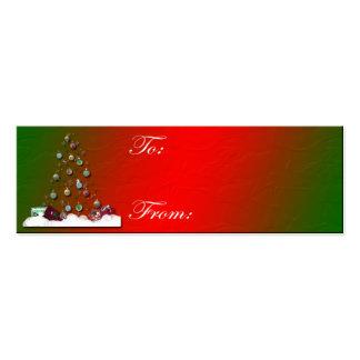 Copia del árbol de hueco tarjetas de visita mini