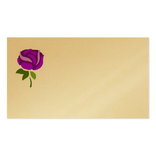 copia del purpleflower tarjetas de negocios