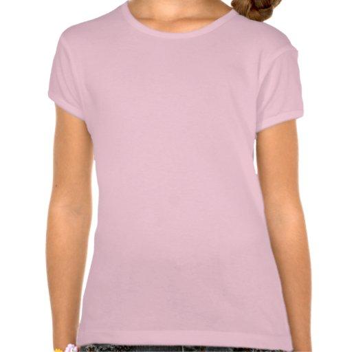 Copo de nieve de Ikat - rosa del fucsia y del Camisetas