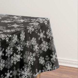 """Copos de nieve del mantel """"52x70"""""""