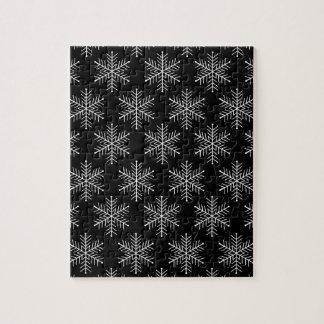 Copos de nieve puzzle