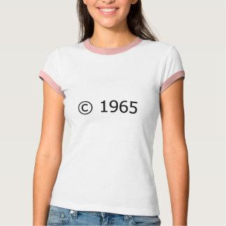 Copyright 1965 camisetas