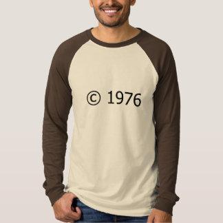 Copyright 1976 camisetas