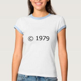 Copyright 1979 camiseta