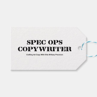 Copywriter de espec. Ops Etiquetas Para Regalos