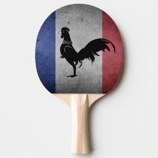 Coq francés pala de ping pong
