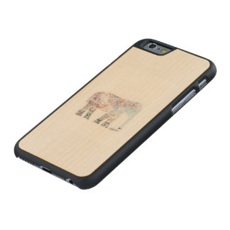 Coque Iphone 6 boho Funda De iPhone 6 Carved® Slim De Arce