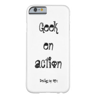"Coque pour iPhone 6 ""Geek en acción"" by REN Funda Barely There iPhone 6"