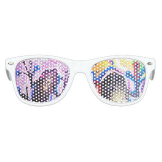 Coqui art beautiful gafas de fiesta retro