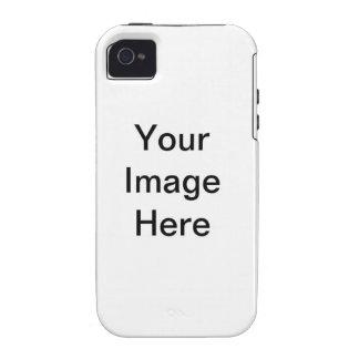 Coração Azul iPhone 4 Carcasas