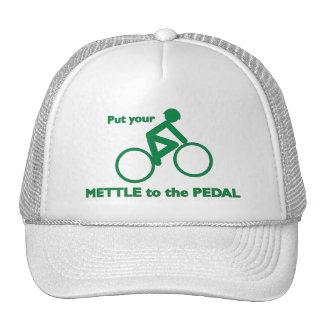 Coraje al pedal gorras