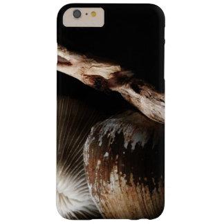 coral de los champiñones secados, cáscara, costa funda barely there iPhone 6 plus