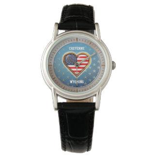 Corazón americano modificado para requisitos reloj