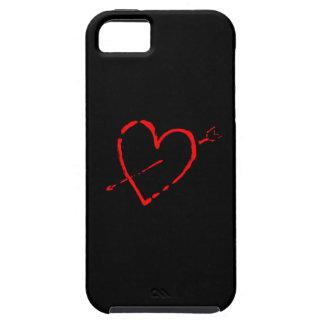 Corazón brillante funda para iPhone SE/5/5s