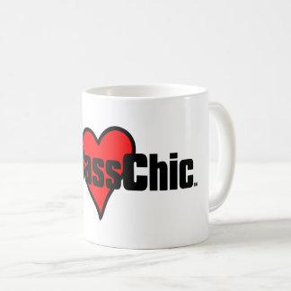 Corazón carmesí de MyBassChic (TM) Taza De Café