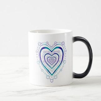 Corazón completo taza mágica