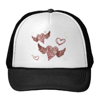 Corazón con alas Fleur urbano Gorro