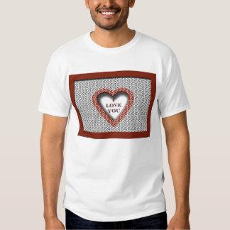 Corazón cortado camisas