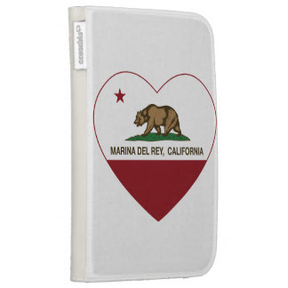 corazón de California flag marina del ray