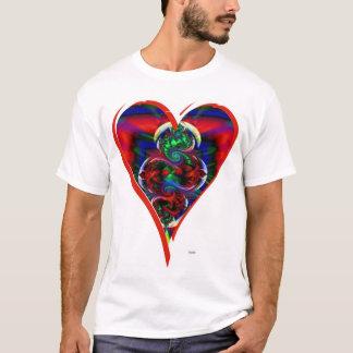 Corazón de corazones camiseta