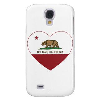 corazón de Del Mar de la bandera de California