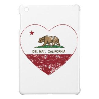 corazón de Del Mar de la bandera de California ape