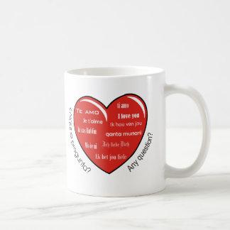 corazón de dia de las madres taza clásica