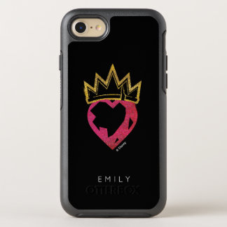Corazón de Evie el | y logotipo de la corona Funda OtterBox Symmetry Para iPhone 7