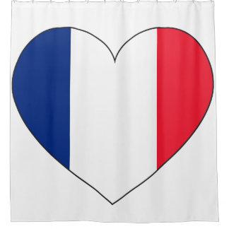 Corazón de la bandera de Francia
