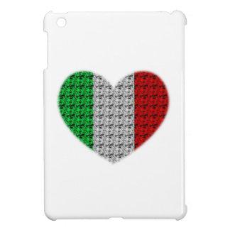 Corazón de la bandera de Italia